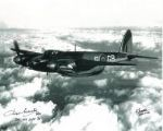 World War 2 Pilots (x2 Autographs) - Genuine Signed Autograph